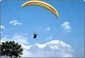 Para Gliding in Jammu and Kashmir